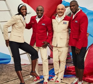 Christian Louboutin Designs Formalwear for the Cuban Olympic Team