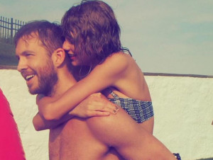 Taylor Swift and Calvin Harris Are Texting Again