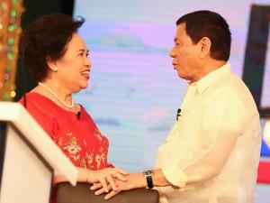 Pres. Rodrigo Duterte Will Miss Sen. Miriam Santiago