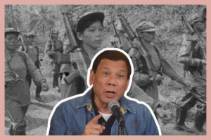 Pres. Rodrigo Duterte Has a Crude Way of Expressing Anger Against Female Rebels