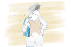 Beach time under the rain: How to dress up right when it pours