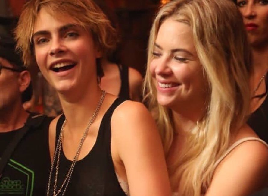Ashley Benson And Cara Delevingne Confirm Dating Rumors With Some Pda Preen Ph