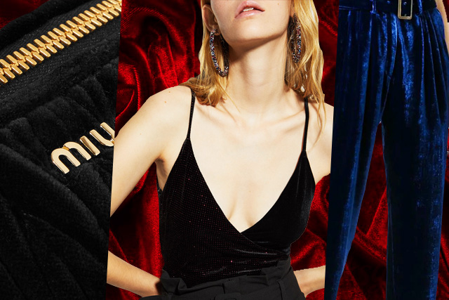Make your velvet dreams come true this holiday with these fashion items